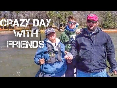 Crazy Day Fishing with TylersReelFishing and Bassfinatic 432