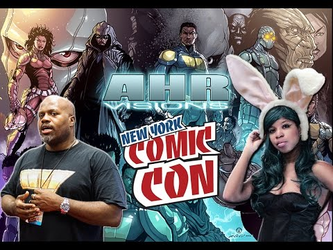 AHR Visions Abdul H. Rashid - New York Comic Con 2014 interview (The Gaming Ground)