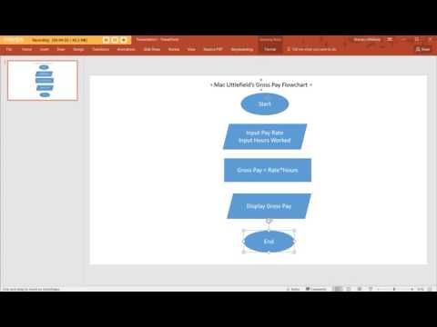 Creating A Flow Chart In PowerPoint