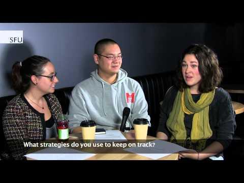 SFU - Academic study strategies