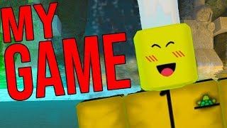 I CREATED A ROBLOX GAME! *COME PLAY NOW!*