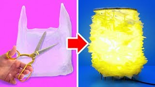 15 AWESOME DIY CRAFTS WITH PLASTIC BAGS