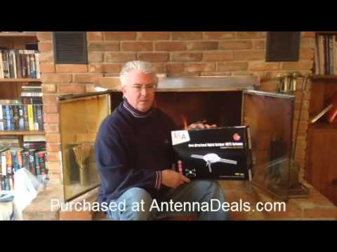 Digital TV Antenna - Over 100 Free HDTV Channels - Review