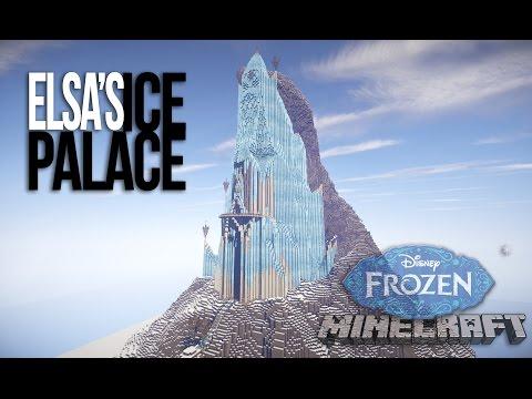 Frozen - Elsa's Ice Palace - in Minecraft!