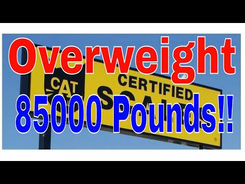85000 Pounds Overweight Knucklehead CDL Driver | RVT