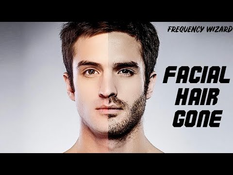 Permanently Remove Facial Hair Fast! Subliminals Theta Frequencies Hypnosis
