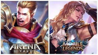 Kisah Sang Ksatria Lancelot (Mobile Legends) & Sang Raja Arthur (Arena of Valor)