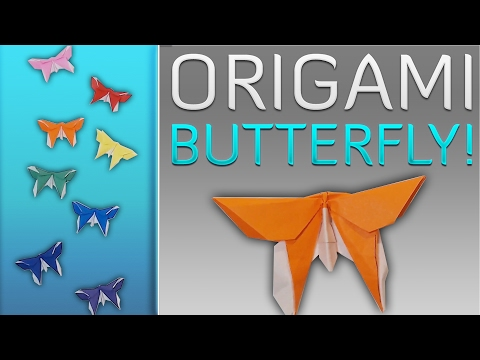 Origami Butterfly Tutorial! [Michael LaFosse]