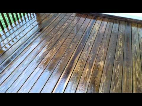 Brooks Pressure Washing. Vinyl and deck cleaning