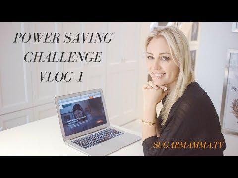 Power Saving Challenge VLOG 1 My What & Why! || SugarMamma