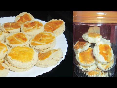 Nan Khatai - How to make Nankhatai at Home - Cookies recipe