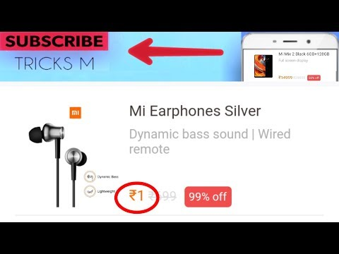 [Loot]New offer to get MI earphones at just 1rs!