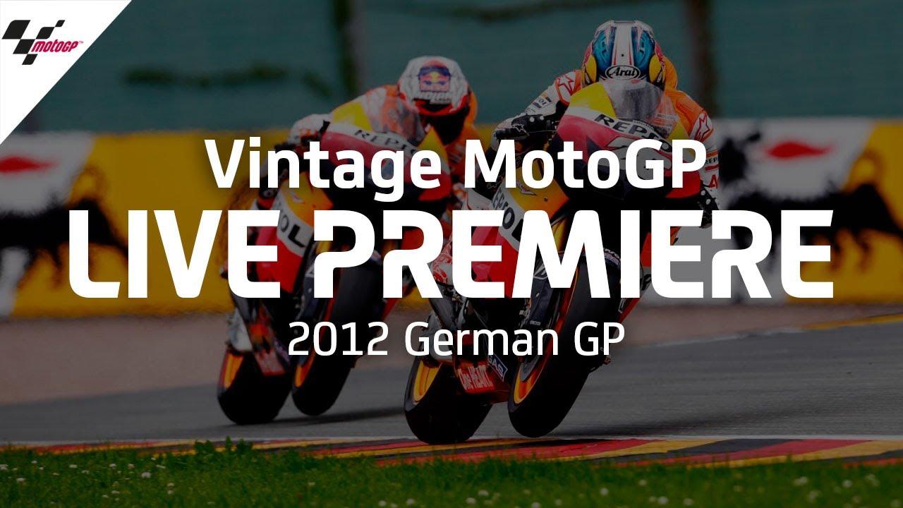 2012 #GermanGP | Vintage MotoGP