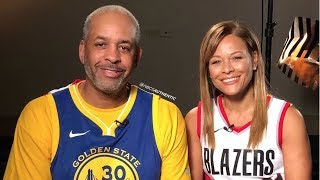 Stephen Curry Parents uses coin toss to decide which parent will root for Seth & Steph!