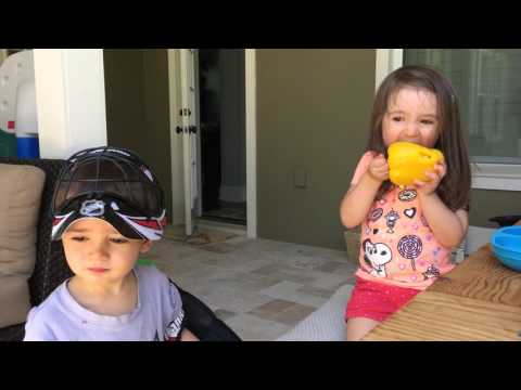 Toddler Eating a Bell Pepper: Help Your Toddler Overcome Picky Eating By Watching This