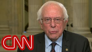 Bernie Sanders blames McConnell for government shutdown