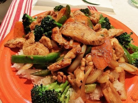 Flavorful Chicken Stir Fry