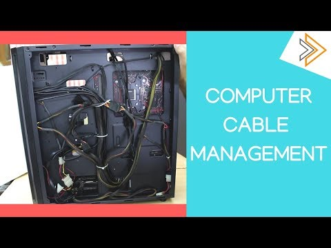 Computer Case CABLE MANAGEMENT GUIDE - How and Why | [in Hindi]