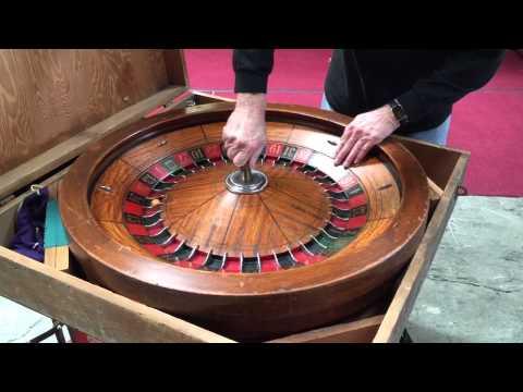 Antique Roulette wheel for sale