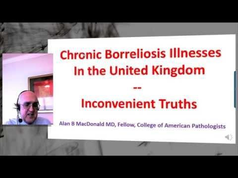 Dr Alan MacDonald, Borrelia Disease, Acute and Chronic, January 2015 Part 1