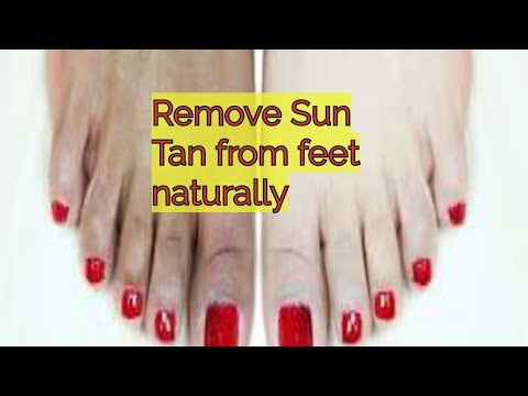Easy Sun Tan Removal Pedicure at Home in Hindi/full demo pedicure