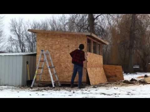 How to build a Pigeon Loft / pigeon coop