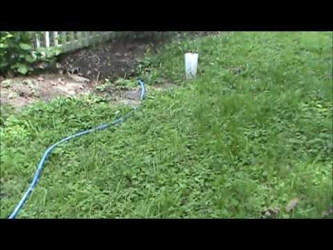 Garden Drainage Solution