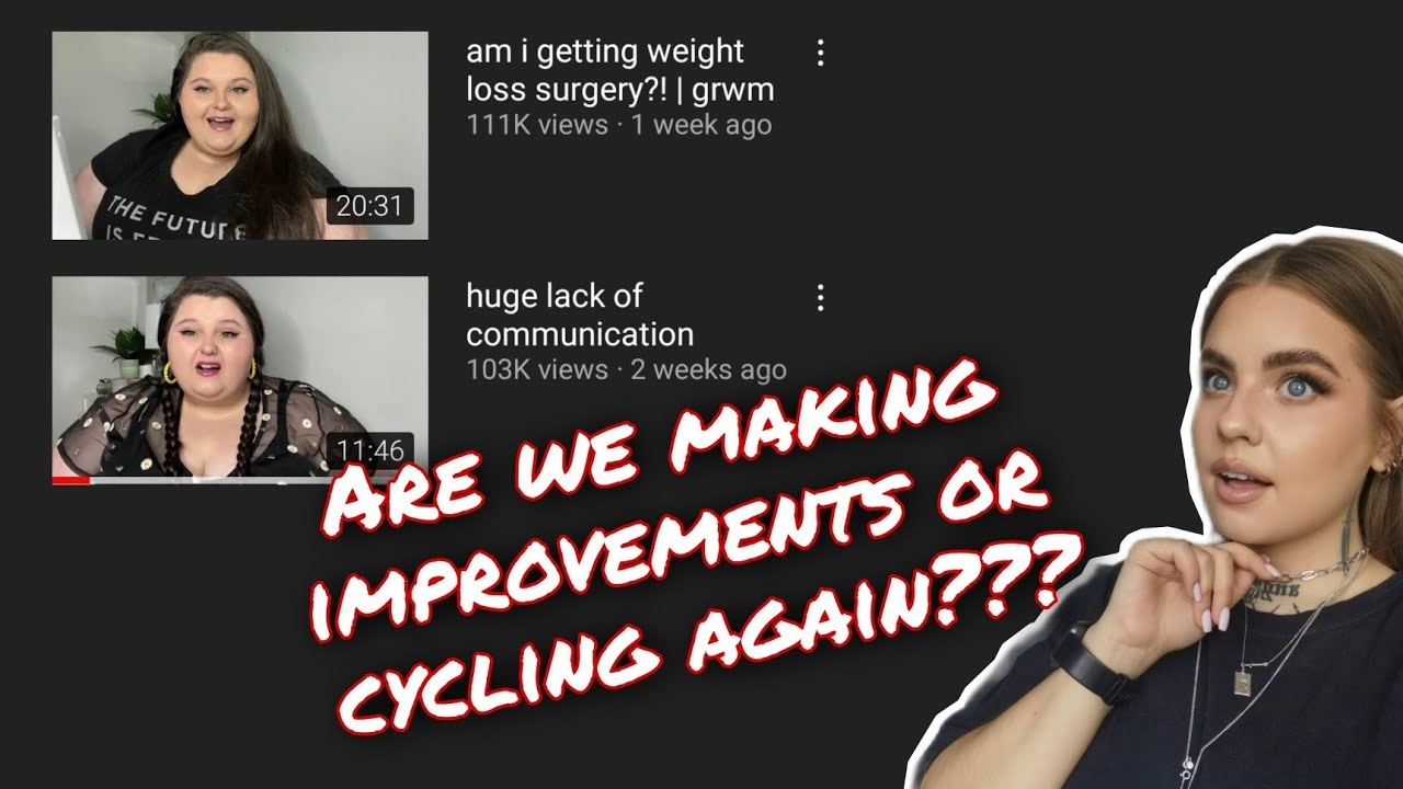 Catching up: Amber says there's a huge lack of communication on her channel and teases surgery.