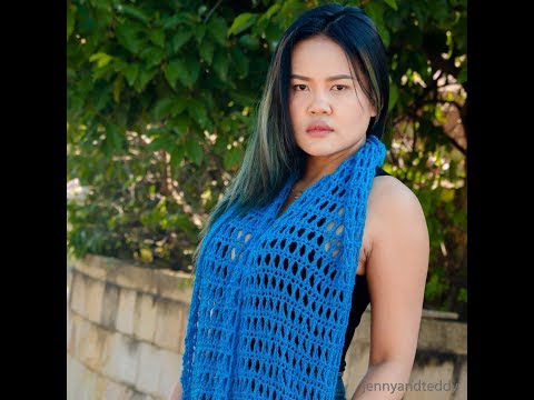 how to criss cross triple crochet stitch