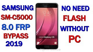 Samsung frp bypass 2019 - Galaxy C5 Remove Google Account