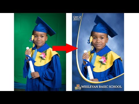 Graduation Portrait - PHOTOSHOP in Minutes