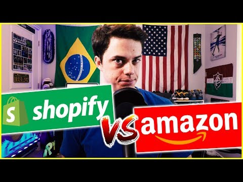 Shopify vs Amazon - Where should you sell your products?