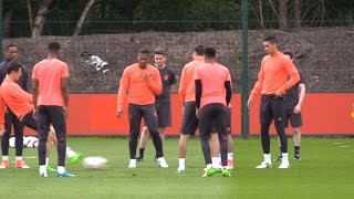 Manchester United Train Ahead Of Europa League Final Against Ajax