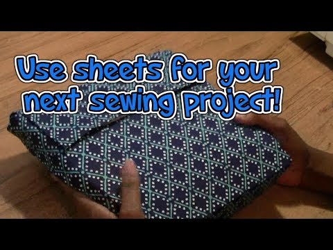 Using Sheets For Fabric - Sewing With Niler
