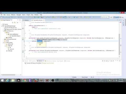 Uploading Multiple Files Using jsp servlet | Code Factory