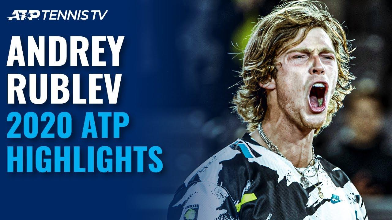 Andrey Rublev: 2020 ATP Highlight Reel