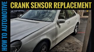P0335 Crankshaft Position Sensor MERCEDES W211