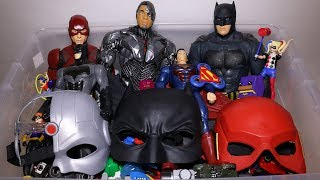 Download Box of Toys: Cars, DC Superheroes, Hand Spinners, Batman, Cyborg, The Flash Action Figures and More Video