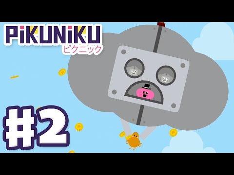 Pikuniku - Gameplay Walkthrough Part 2 - Free Money! 3 Apples