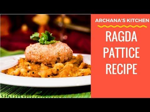 Ragda Patties Recipe - Evening Snack Recipes by Archana's Kitchen