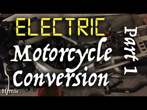 Electric Motorcycle Conversion - R6 - Part 1
