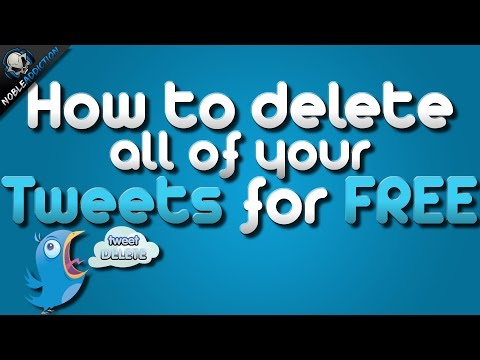 How To Delete All Your Tweets For FREE