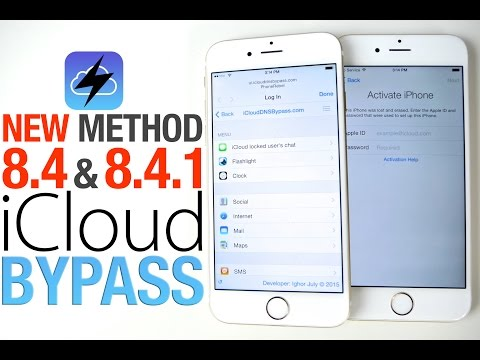 How To Bypass iCloud Activation Lock on iOS 8.4 & 8.4.1 - Updated Guide!