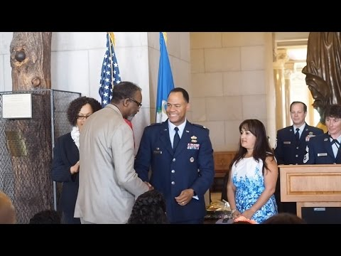 Andre McMillian Earns Promotion in U.S. Air Force Reserve