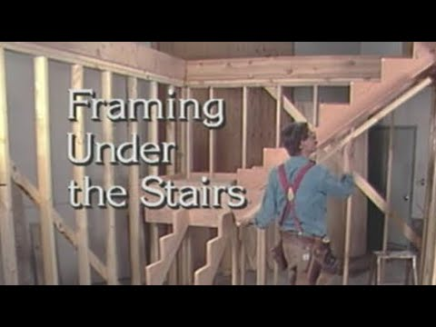 How to Frame Under the Stairs