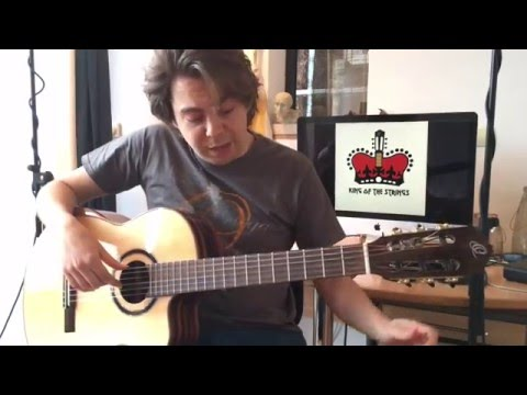 How To Tune A Guitar By Ear Using Harmonics - Thomas Zwijsen