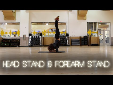 How to do a Headstand and Forearm Stand for Beginners - MsAriella89