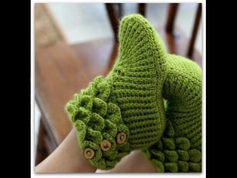 Crocodile Stitch Boots Adult Sizes Crochet Pattern Presentation