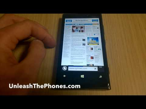 Internet Explorer 11 on Windows Phone 8.1
