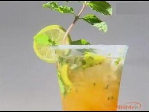 Mint Quick Lime Mojito - Sanjeev Kapoor - Khana Khazana